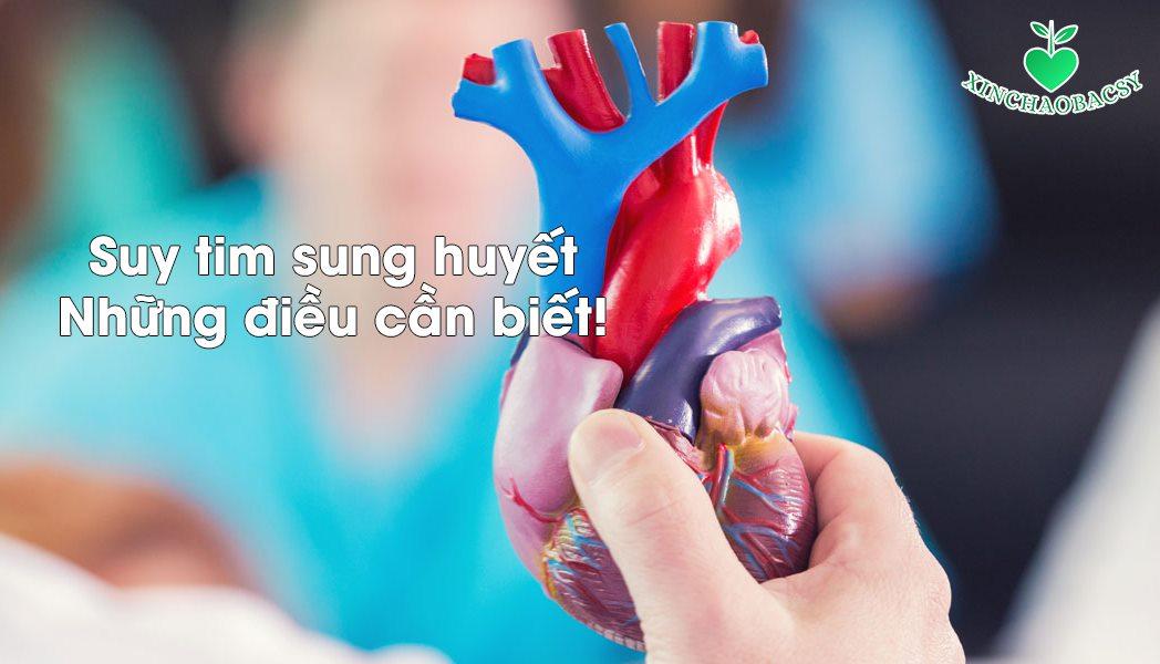 Suy tim sung huyết – nguyên nhân nhập viện hàng đầu ở người cao tuổi