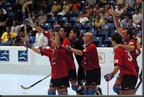 España Campeona del mundo de Hockey patines.