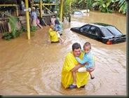 Costa  Rica y el alma inundada de agua
