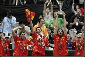 Campeones del mundo de baloncesto