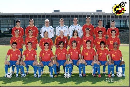 seleccion Española absoluta de futbol
